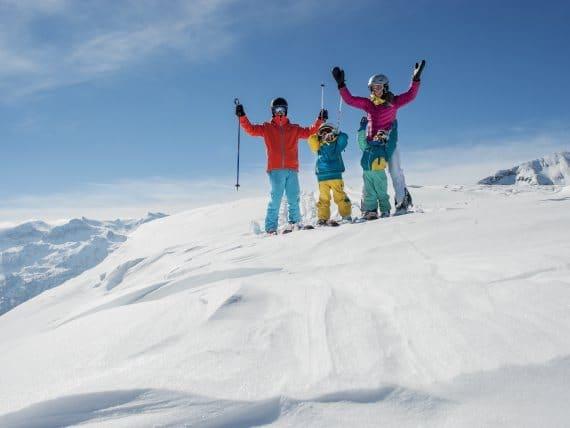 Skiurlaub mit der Familie - family austria Familienhotels