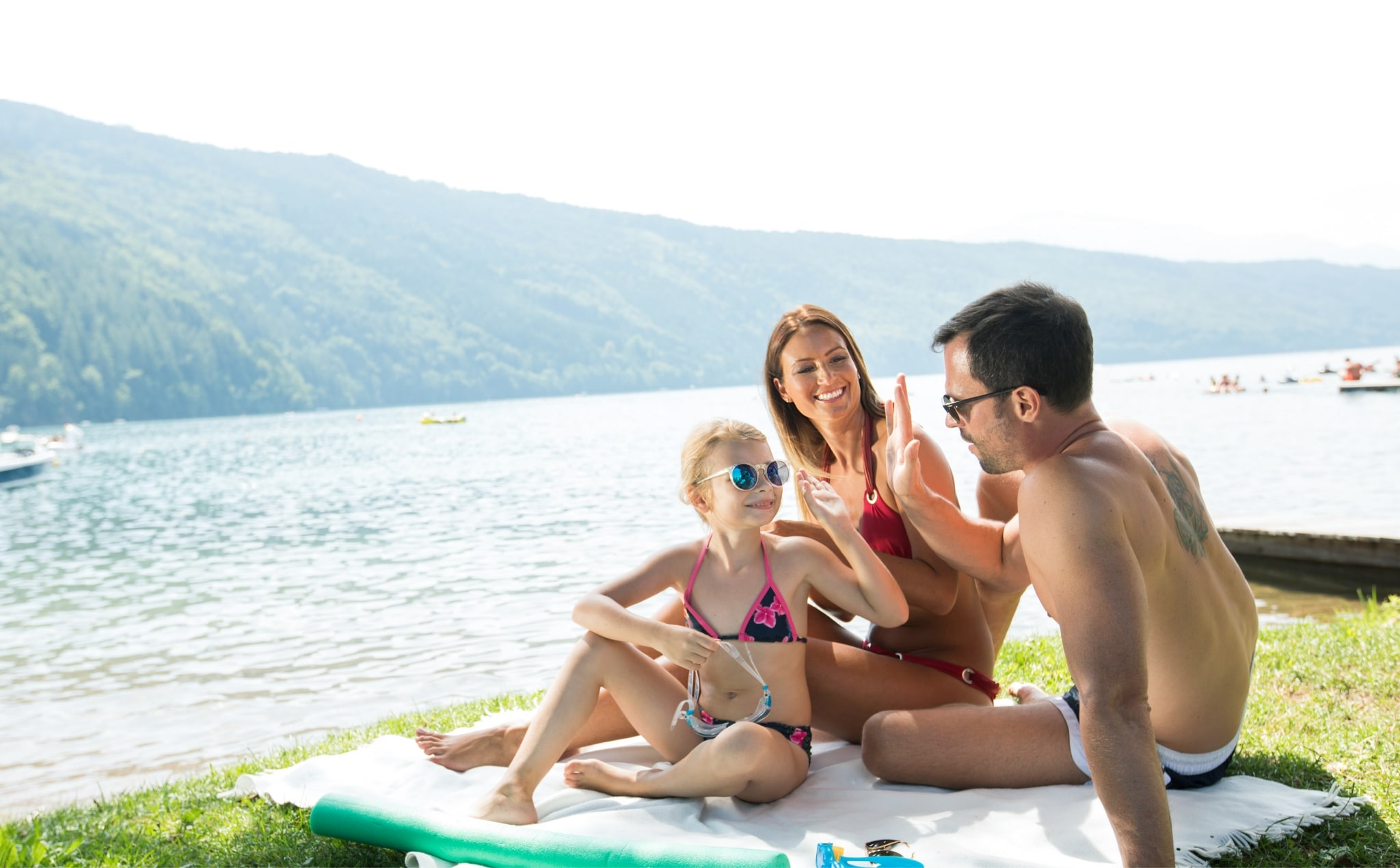 Urlaub am See mit der Familie - family austria Familienhotels